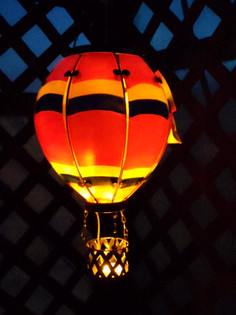 Action Glow-up Hot Air Balloon