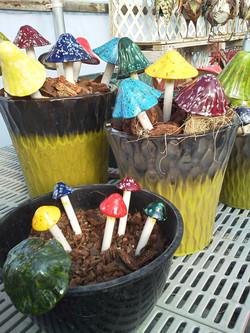 Fairy Garden Mushrooms