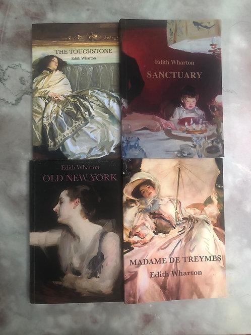 Seven Edith Wharton novellas in four volumes