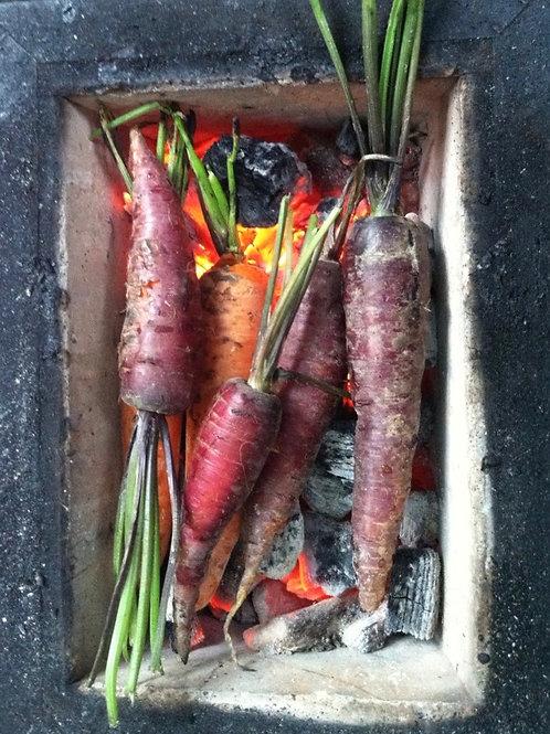 Roasting Carrot Card