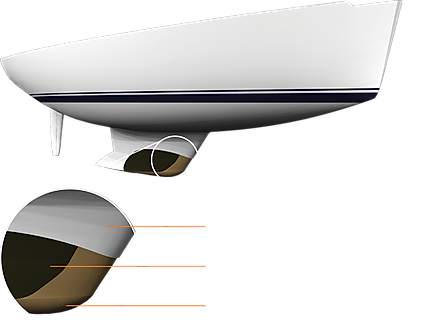 Image explaining the Keel and what it is made out of