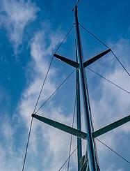 Kraken's twin foresail rig