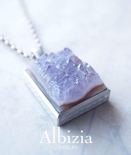 Al-2673_Pn  結晶メノウペンダントトップ