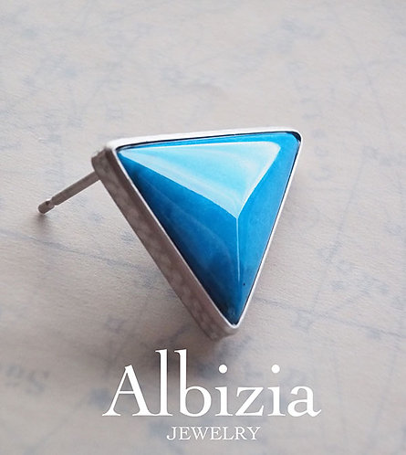 Al-2846_Ps_ブルーオパール一粒ピアス