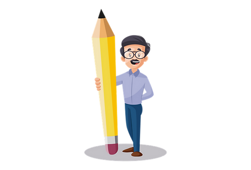 Teacher Male with Big pencil.png