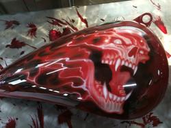 Skull Design Tank