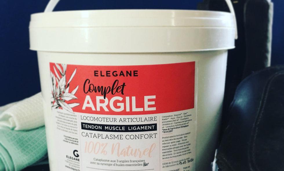 Complet'ARGILE CATAPLASME CONFORT