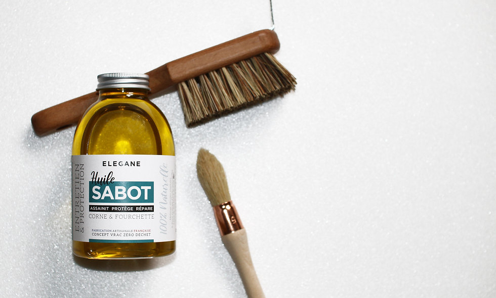 Huile Sabot, Cure pieds & Pinceau