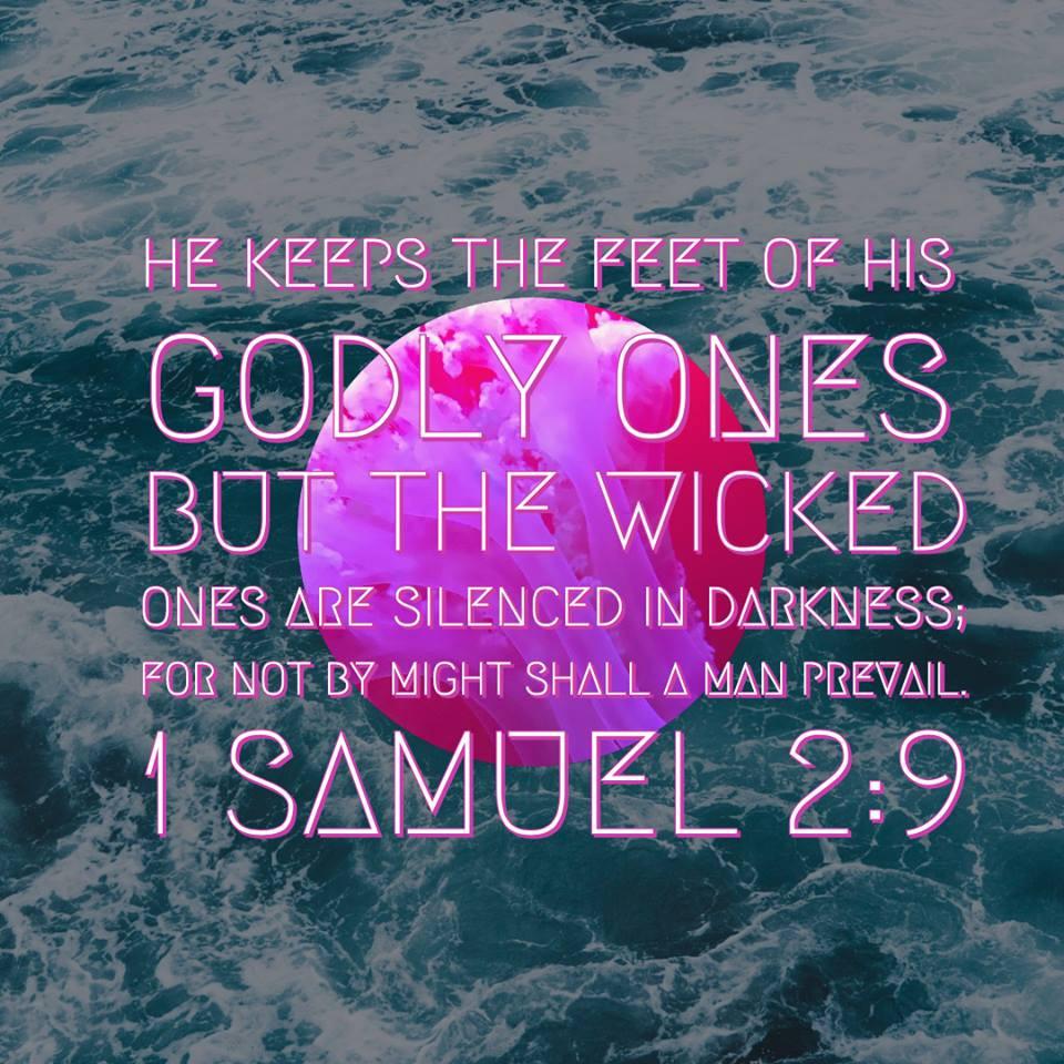 1 samuel 2:9