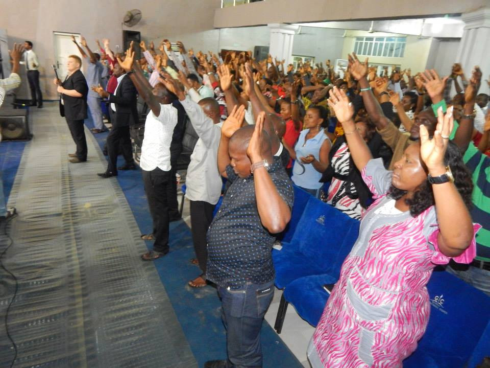 Revival Meeting in South Africa with Warren Hunter of Sword Ministries