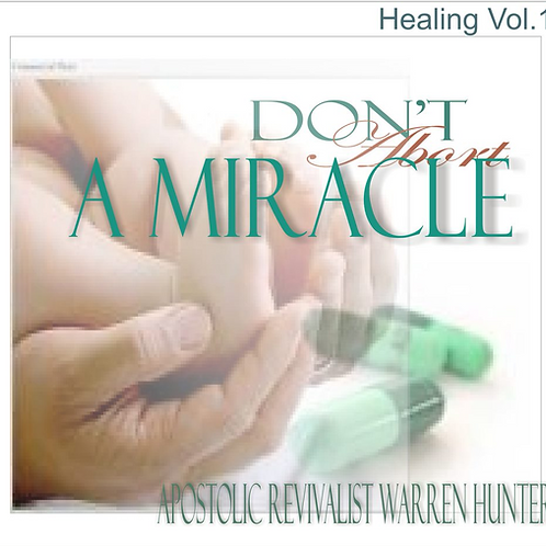 Don't Abort a Miracle