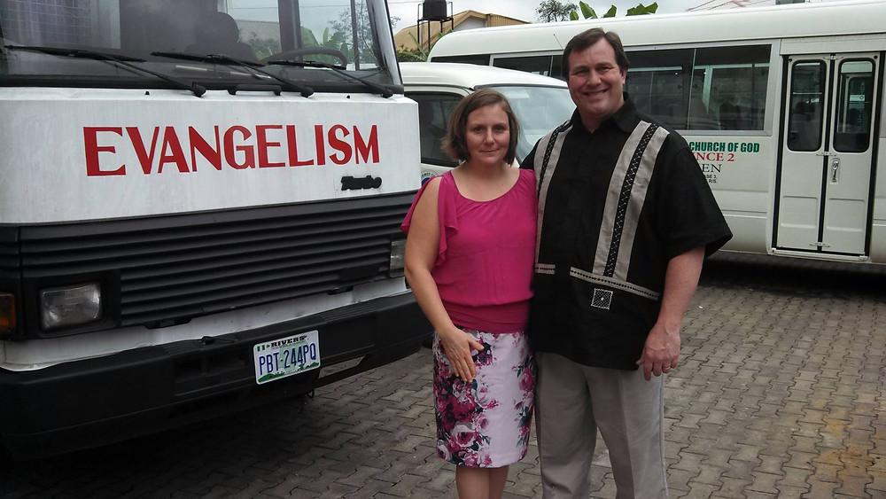 Warren and Kayla Hunter Sword Ministries International