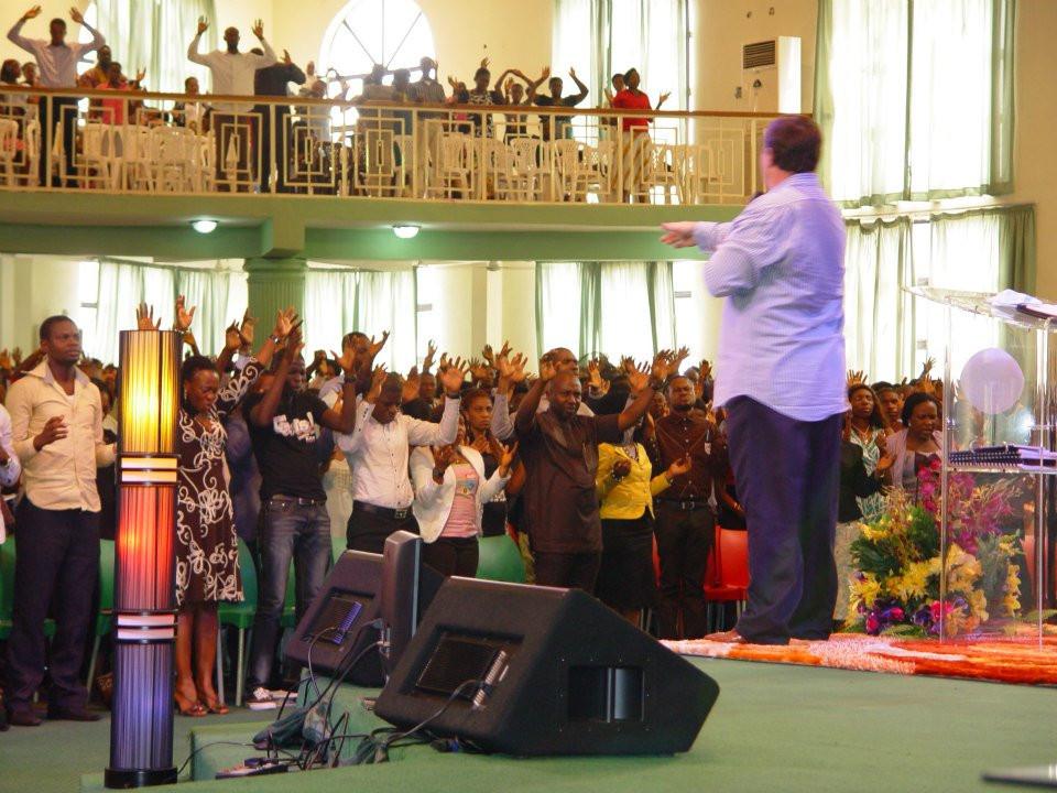 Warren Hunter Preaching - Sword Ministries International