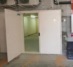 Double width flood Door