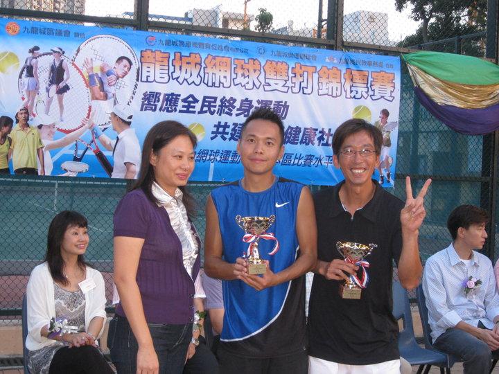 Men 2nd runner