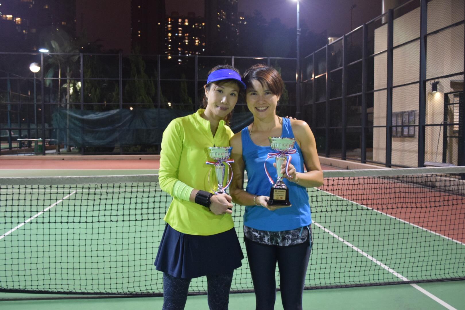 1st Runner-up Karen & Corinna