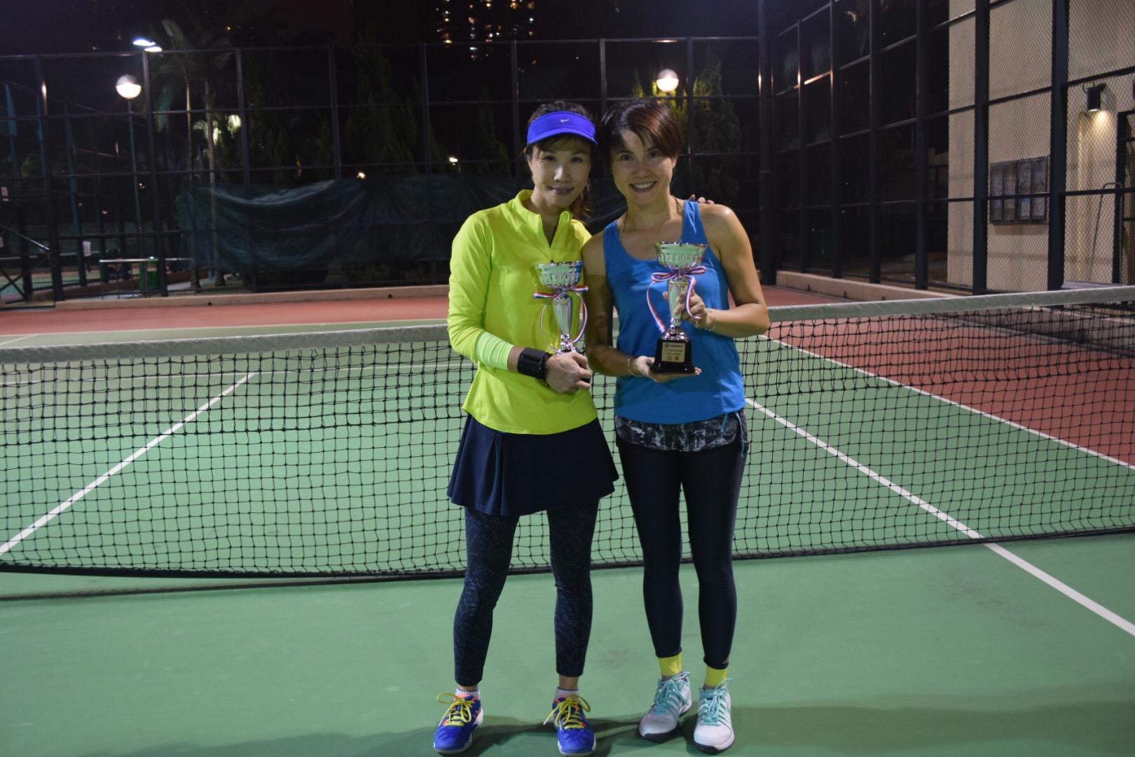 1st Runner Up : Karen & Corinna