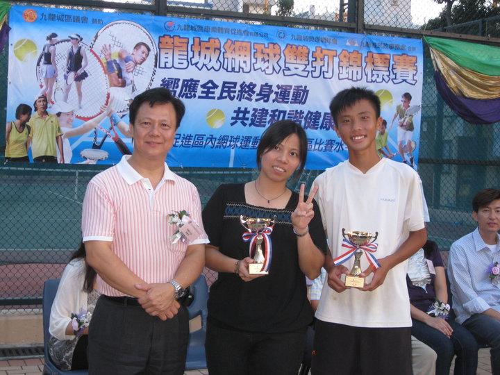 Mixed 3rd Runner