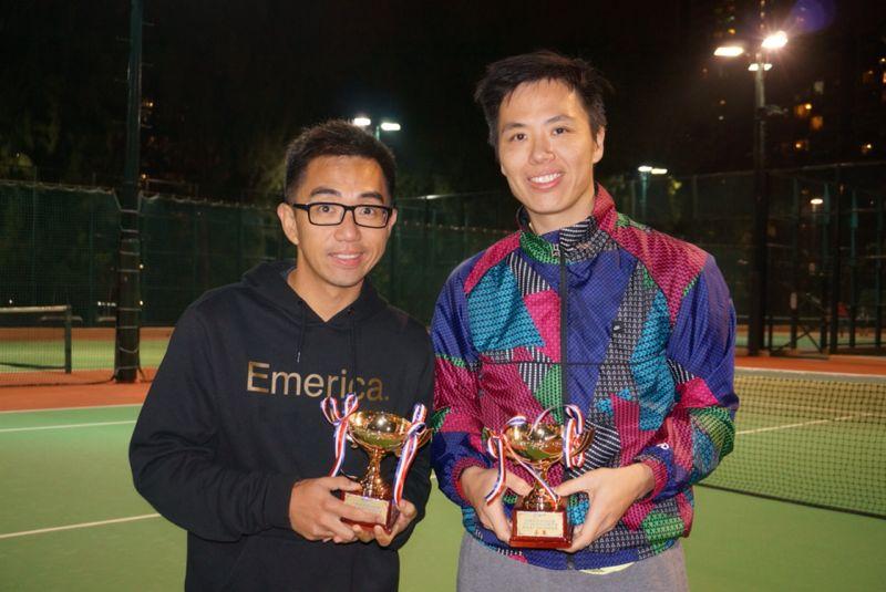 Patrick Shum and Jason Chan