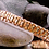 Thumbnail: Basket weave bracelet with red brass and nickel si