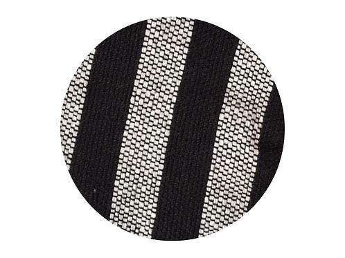 Black and white stripe design