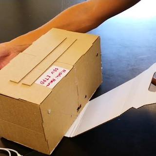 Paper Prototype vol1 MC Donalds Happy meal box