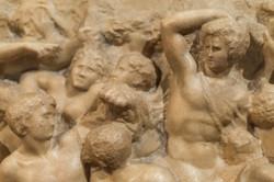 Michelangelo's Battle of the Centaurs, Casa Buonarroti, Florence, Italy