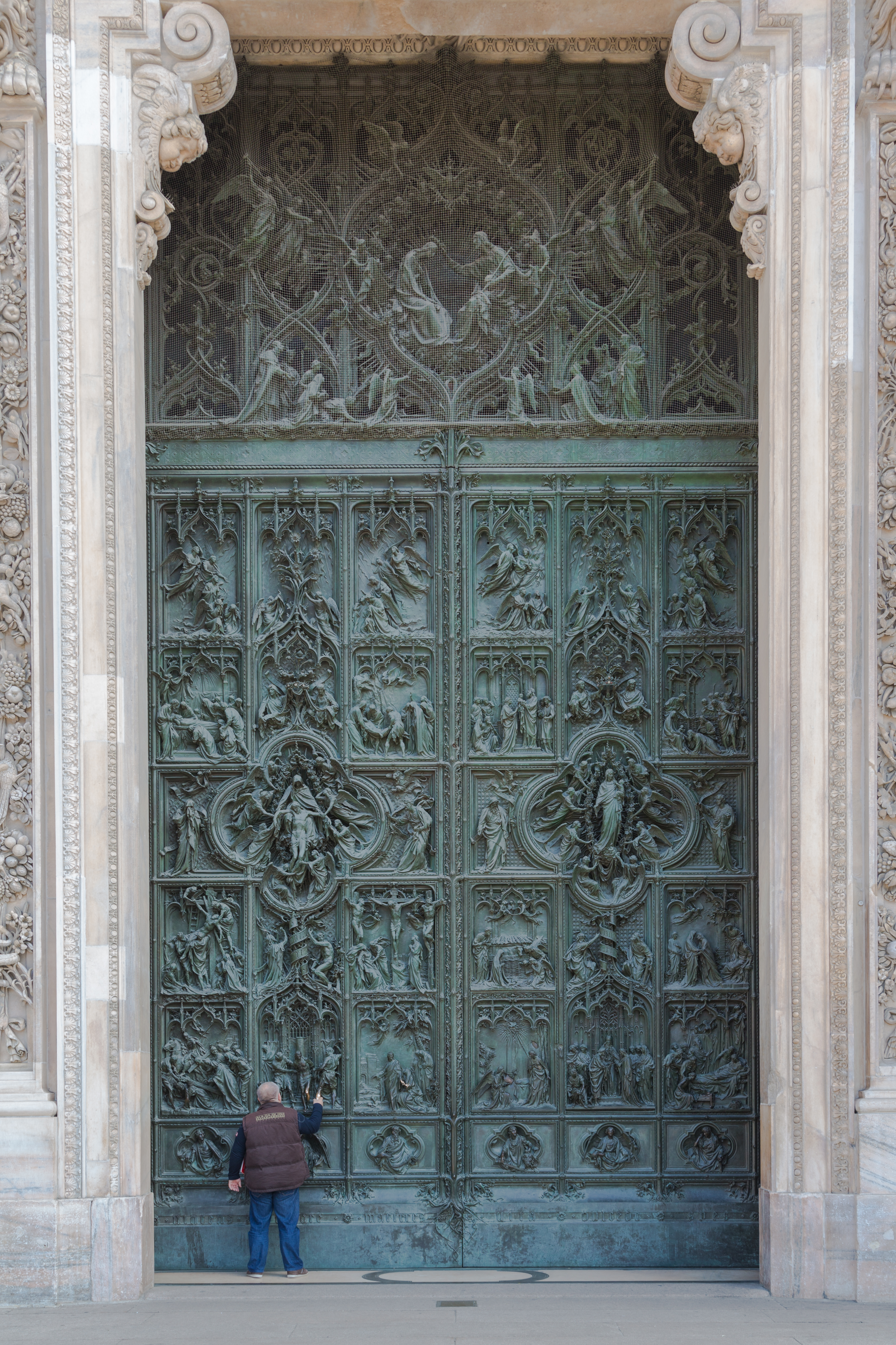 Portal Cathedral, Milan, Italy