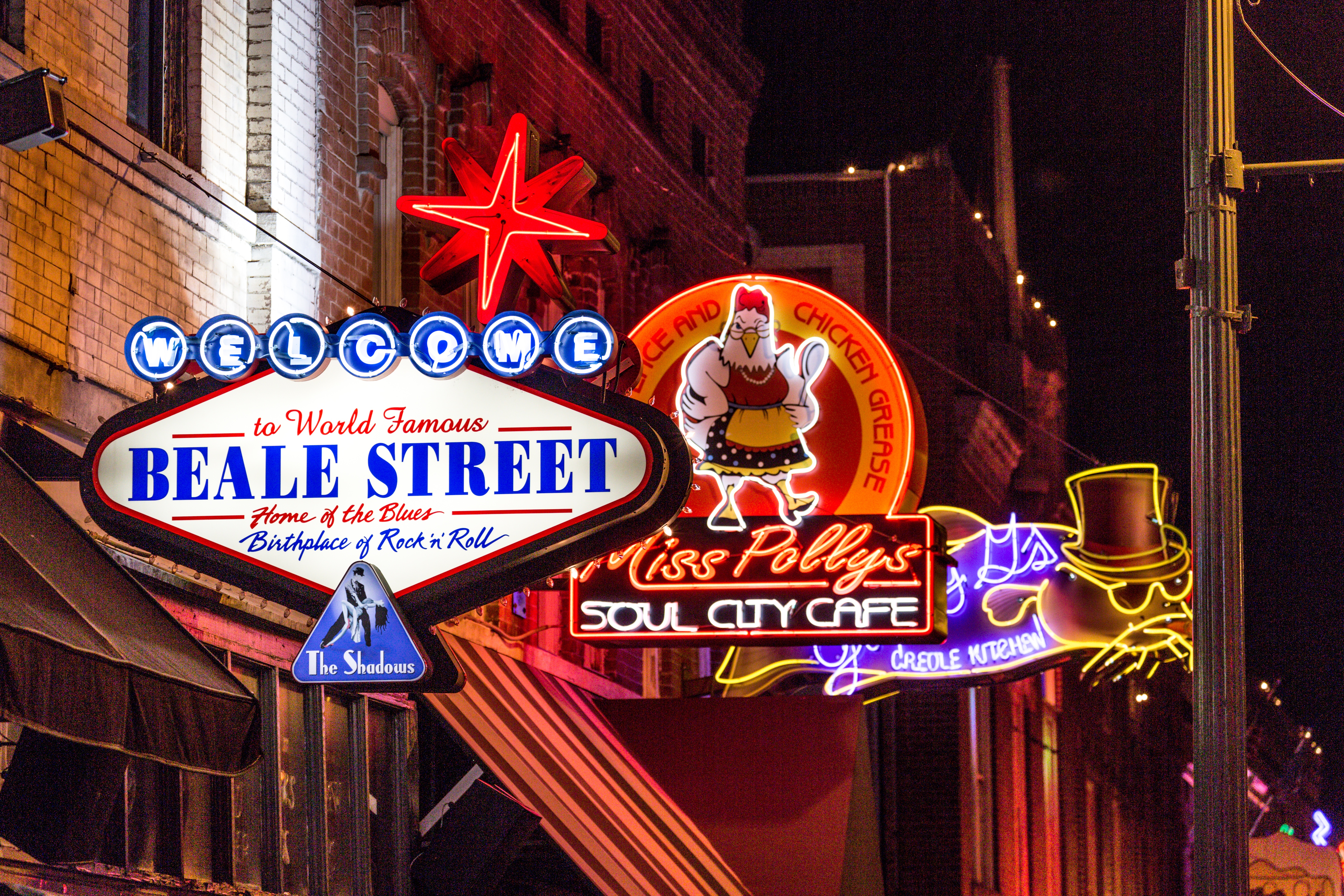 Beale Street, Memphis, Tennessee, USA
