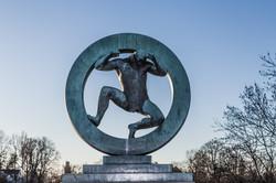Vigeland Sculpture, Oslo, Norway