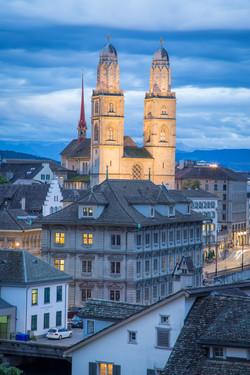 Great Minster, Zurich