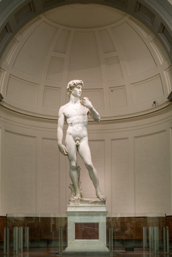 Michelangelo's David, Galleria D'Accademia, Florence, Italy