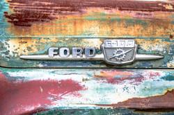 Vintage Car, Clarksdale, Mississippi, USA