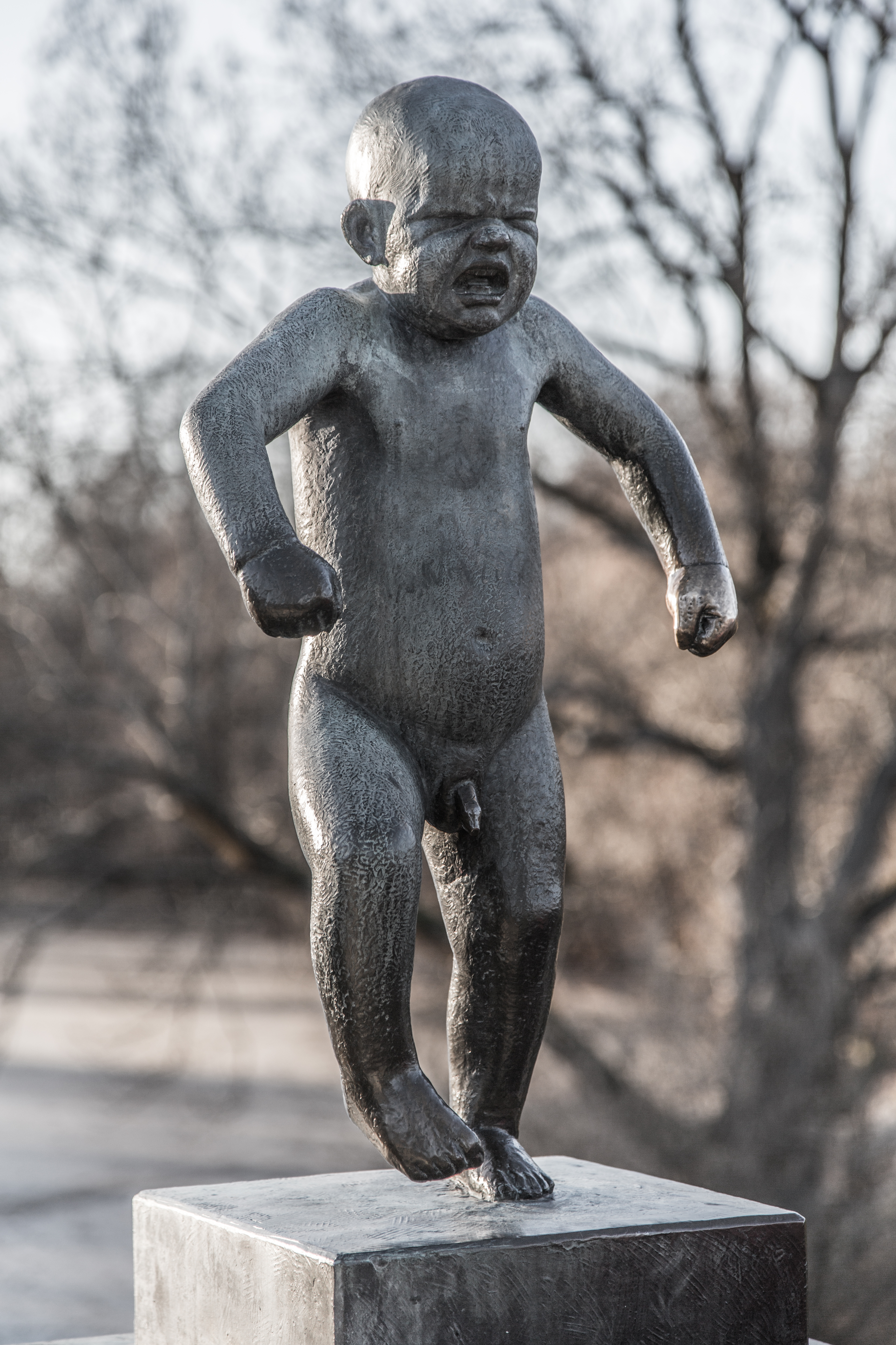 Vigeland's Angry Baby, Oslo, Norway