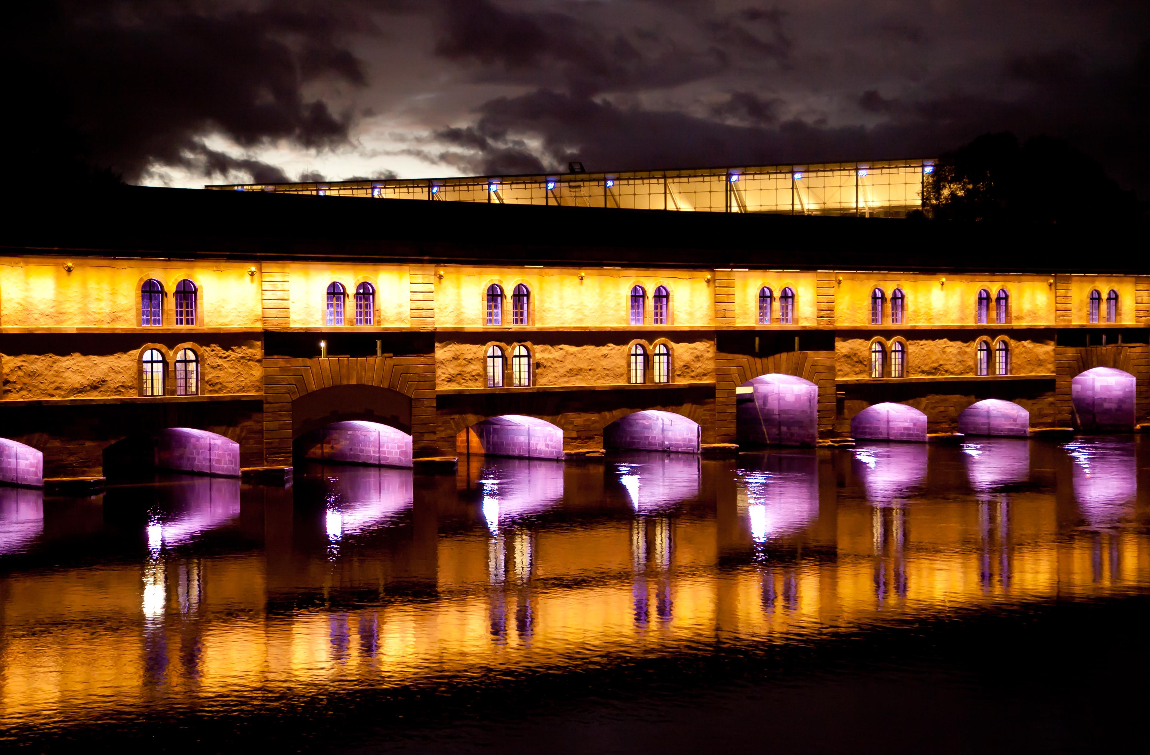 Vauban Dam, Strasbourg, France