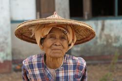 Market Woman, Thandwe, Myanmar