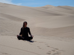The Great White Sand Dunes