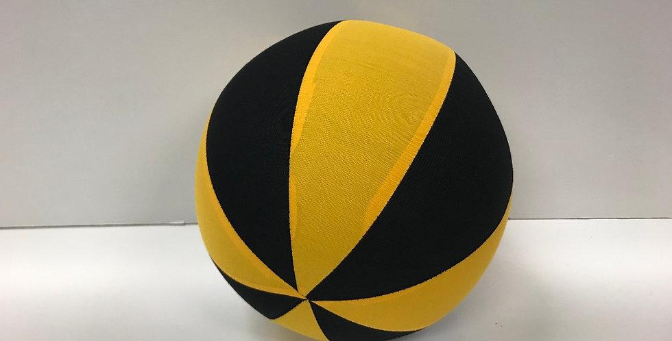Balloon Ball Medium - Black Yellow - Richmond Tigers