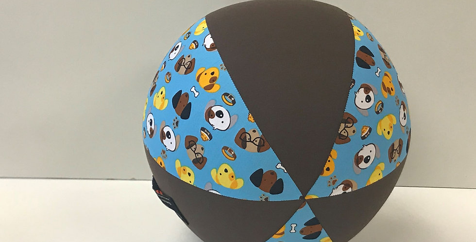 Balloon Ball - Puppies with Brown Panels