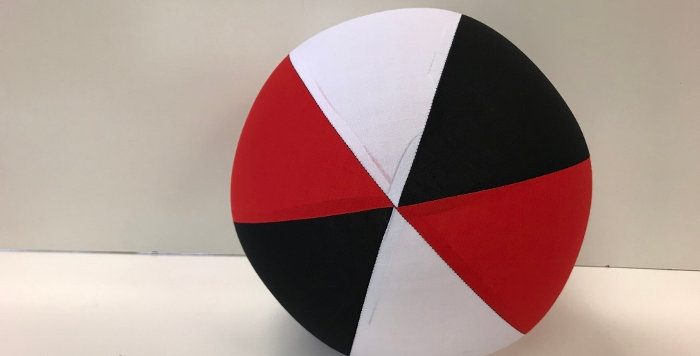 Balloon Ball AFL - Red Black White - Saints St. Kilda