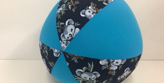 Balloon Ball - Navy Koala Bears with Aqua Panels