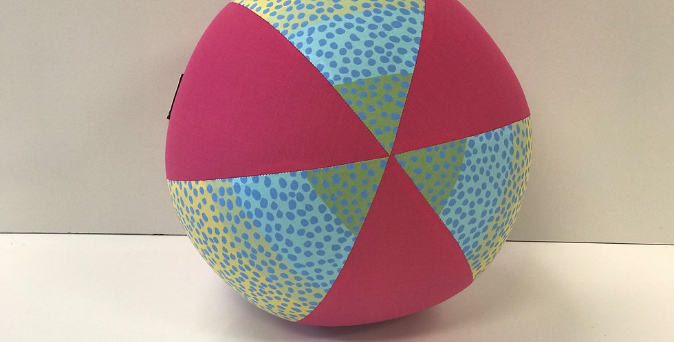 Balloon Ball - Freckles Hot Pink Panels