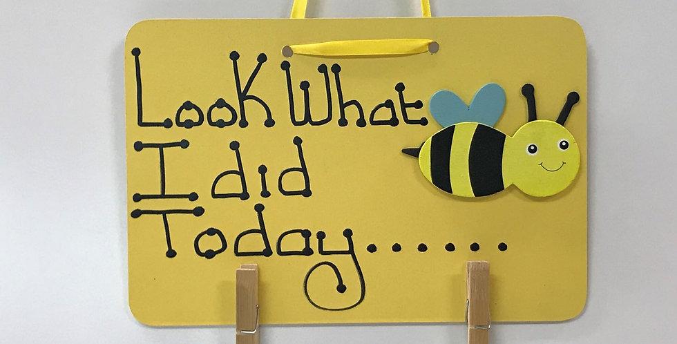 Bumble Bee - Yellow Board - Yellow Ribbon