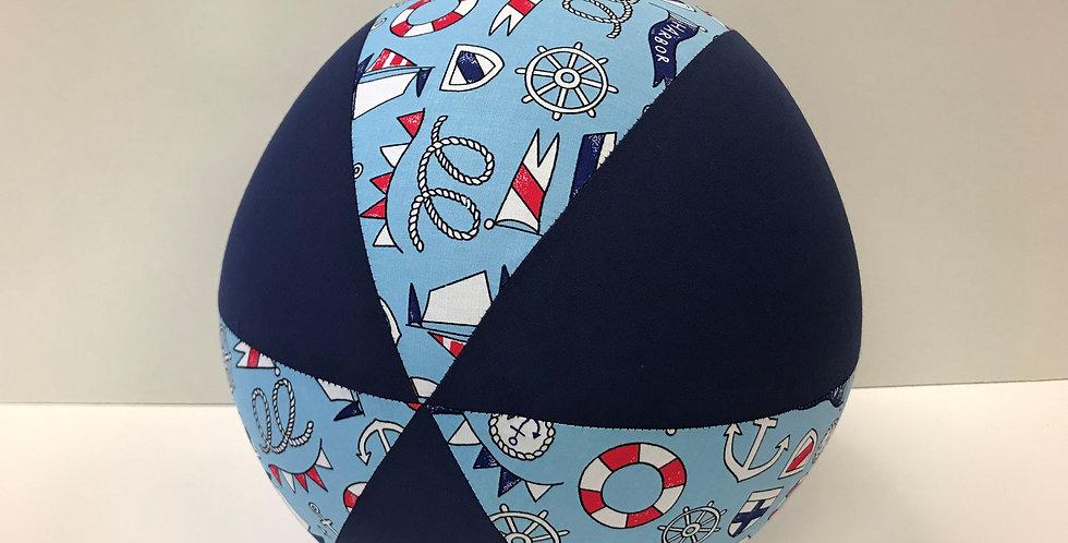 Balloon Ball - Nautical Navy Panels
