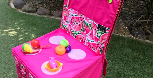 Kids Travel Oven - Pink - Watermelon Print