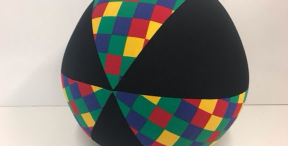 Balloon Ball - Harlequin with Black Panels