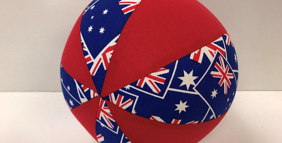 Balloon Ball Medium - Australia Flag - Red Panels