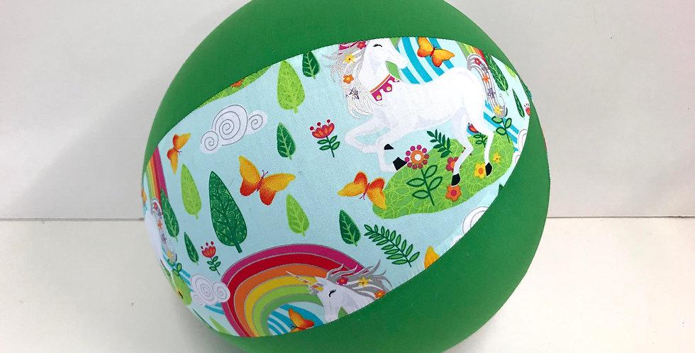 Balloon Ball - Unicorns Magical Garden - Apple Green Panels