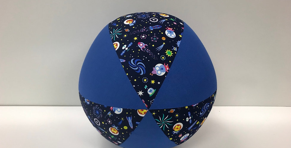 Balloon Ball - Space Rockets with Electric Blue Panels