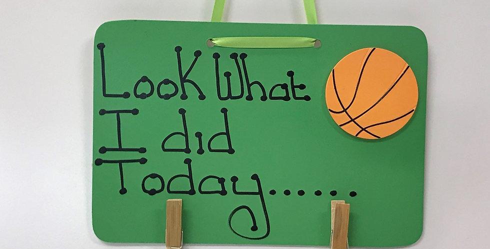Basketball - Green Board - Green Ribbon